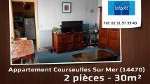 A louer - appartement - Courseulles Sur Mer (14470) - 2 pièces - 30m²