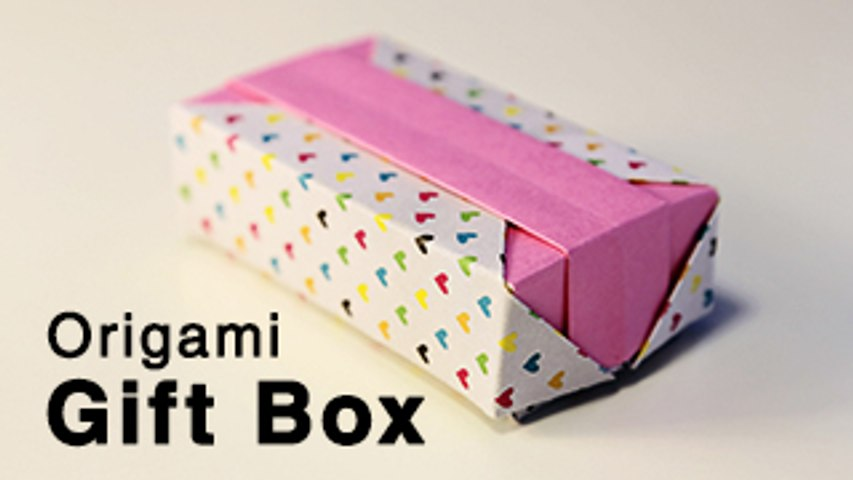 Easy Fast Origami Rectangle box Tutorial - YouTube | 480x853
