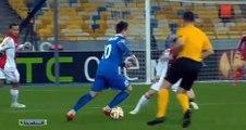 Днепр - Аякс 1-0  Лига Европы УЕФА 2014-15  1-8 финала Первый матч Видео обзор