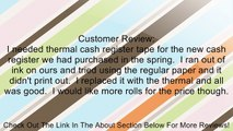 NCR Thermal Receipt Paper, 2.25 Inches x 165 Feet Roll, 6 per Pack Review