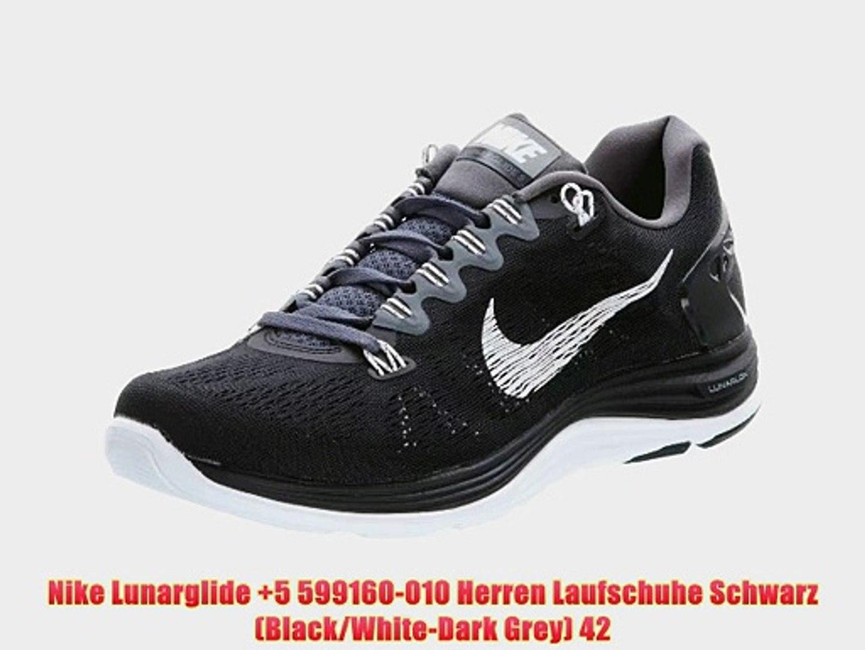 nice shoes outlet run shoes Nike Lunarglide 5 599160-010 Herren Laufschuhe Schwarz ...