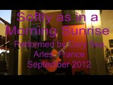 Softly as in a Morning Sunrise-jazz standard on a nylon fingerstyle jazz guitar