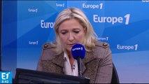 Marine le Pen répond aux auditeurs d'Europe 1