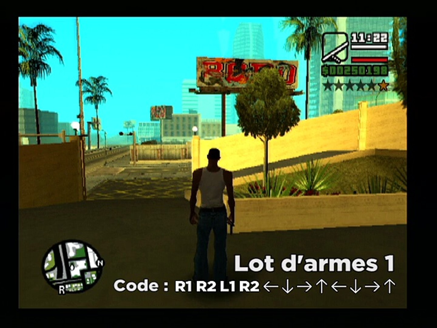 Grand Theft Auto : San Andreas - Codes GTA San Andreas
