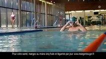Y&R Paris pour Danone - yaourt Danio, «La piscine» - mars 2015