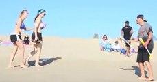 Plajda Yapılan Sulu Şaka!