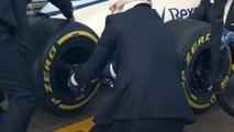 The classiest F1 Pit Stop racing team... Williams Martini Racing & Hackett