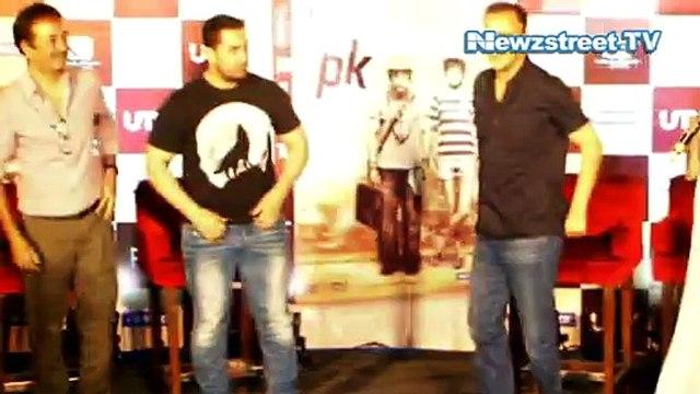 Aamir Khan celebrates  pre birthday with media