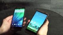 HTC One M9 vs HTC One M8 : comparatif