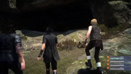 Final Fantasy XV  Episode Duscae Dungeon Gameplay Video de Final Fantasy XV