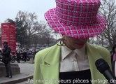 Street Style : les looks à l'entrée du défilé Chanel
