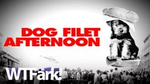 DOG FILET AFTERNOON: Old South Korean Man Brings Dog Meat To Recovering US Ambassador