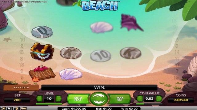 Beach™ par NetEnt   Machines à sous en ligne Gratuites   MachinesAsousX.com