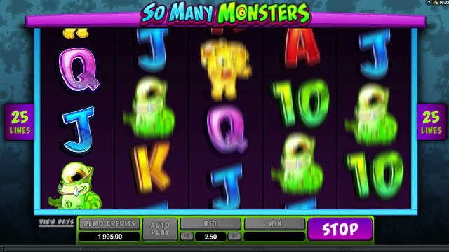 So Many Monsters™ par Microgaming | Machines à sous en ligne Gratuites | MachinesAsousX.com