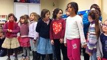 Les élèves de l'école Diwan présentent un CD de chansons en breton.