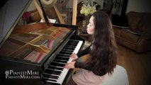 The Weeknd - Earned It (Fifty Shades of Grey Soundtrack)   Piano Cover by Pianistmiri 이미리