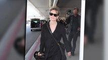Renée Zelwegger a le visage frais à son retour à Los Angeles