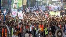 Yémen: manifestation pro-Houthis à Sanaa