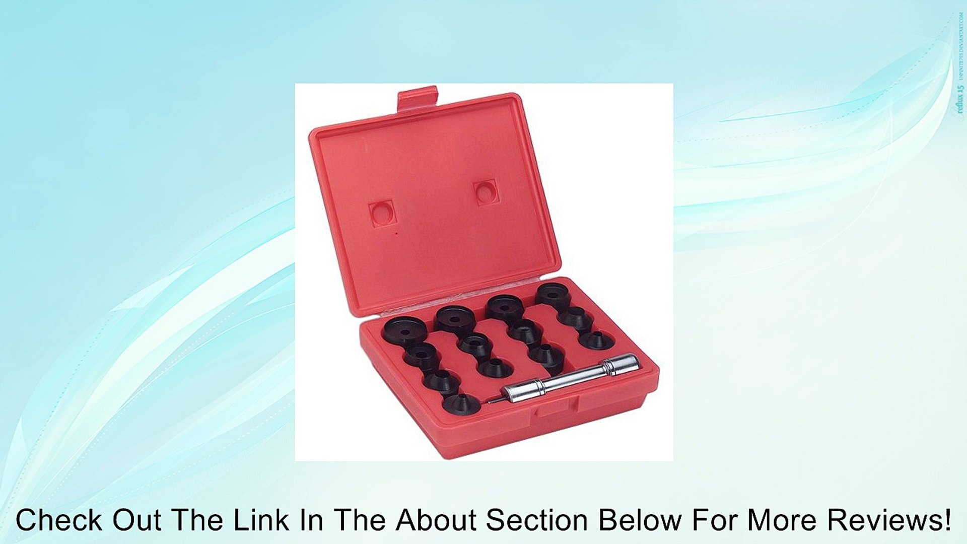 Grizzly G5651 Transfer Punch Set 28-Piece
