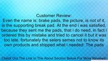 Rollerblade Standard 762L Inline Skates Brake Pad (Pack of 2), Black Review