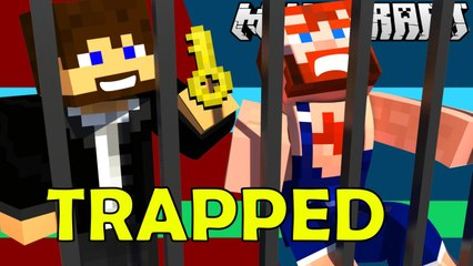 TRAPPED Minecarft Map Gameplay by NikNikamTV
