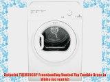 Hotpoint TVEM70C6P Freestanding Vented 7kg Tumble Dryer in White inc vent kit