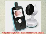 Philips AVENT Digital Video Monitor SCD603/01 with Lullabies