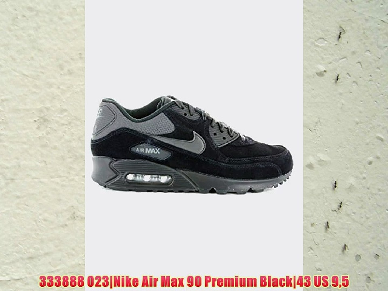 333888 023 Nike Air Max 90 Premium Black 43 US 95