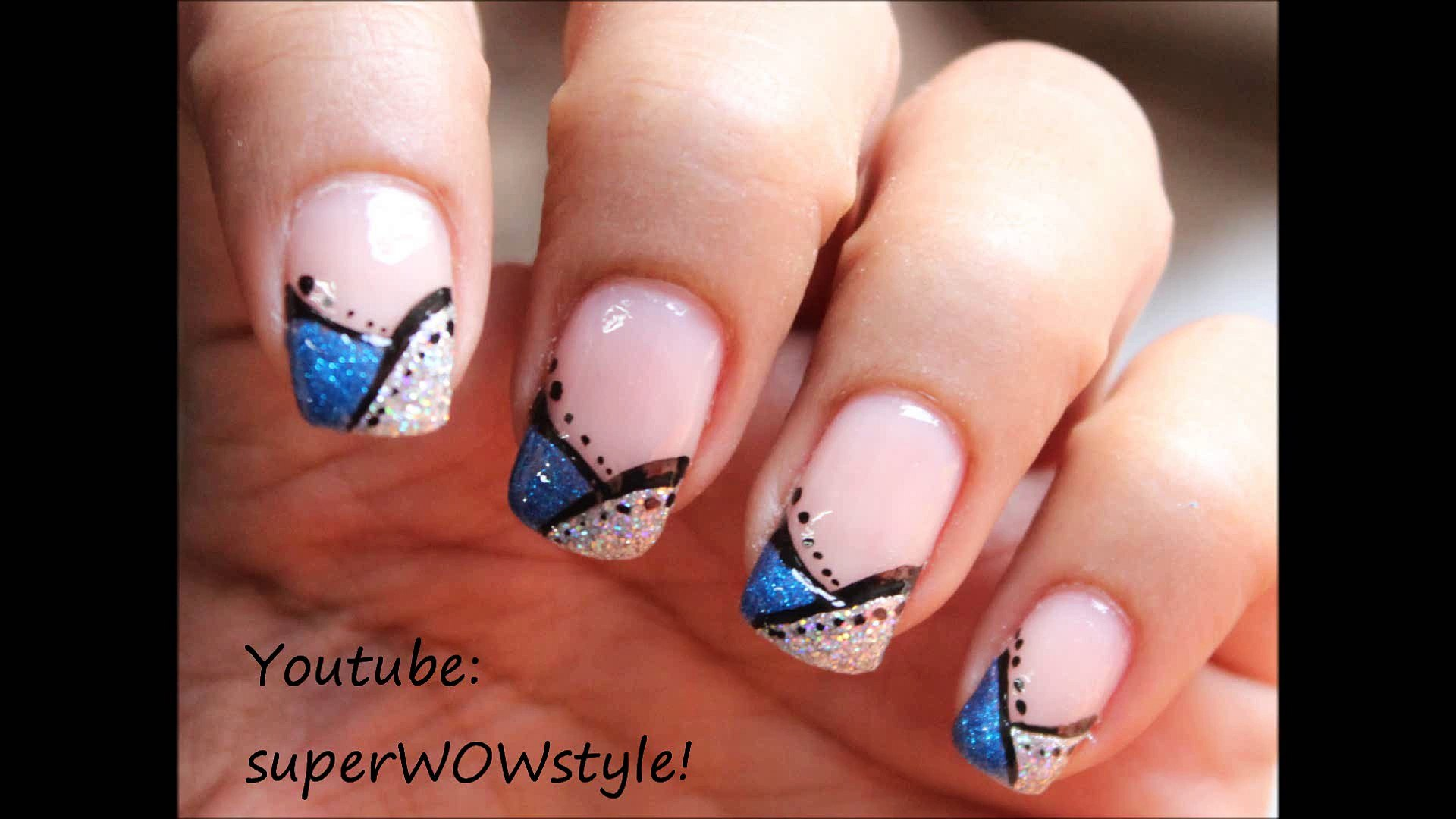 French Tip Manicure nail Art - Easy French manicure Nail Designs ...