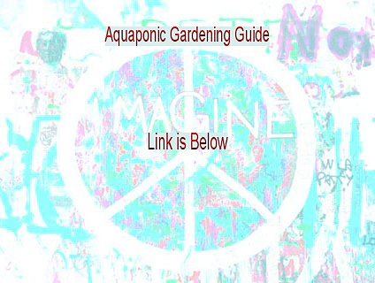 Aquaponic Gardening Guide Download Free [Download Here]