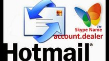 Buy High Quality Bulk Email Accounts- Hotmail, Facebook