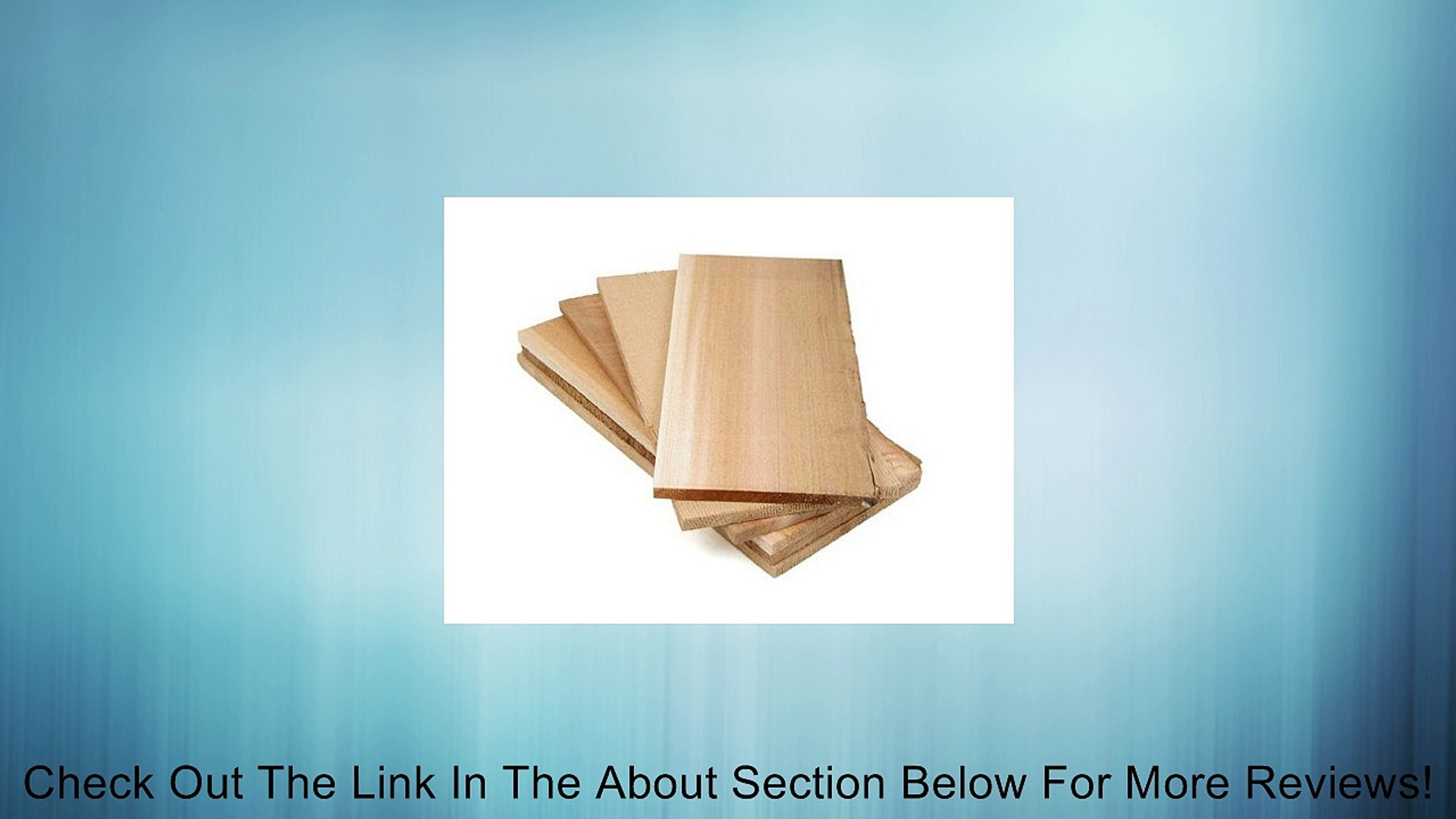 Pacific Northwest Fine Wood Products Set of 6 Cedar Barbecue Planks. Review
