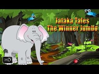 Jataka Tales - Short Stories for Children - Elephant Stories - The Winner Jumbo - Animated Cartoons