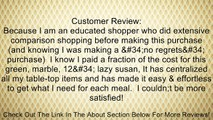 """Creative Home Green Marble 12"""" Lazy Susan Review"""