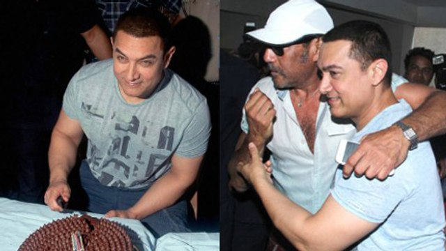 Aamir Khan Celebrates His 50th Birthday - PRESS CONFERENCE
