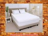 Sleep Joy 4 ViscO2 Ventilated Memory Foam Mattress Topper King