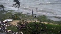 Port Vila Seafront, post cyclone Pam