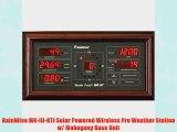 RainWise MK-III-RTI Solar Powered Wireless Pro Weather Station w/ Mahogany Base Unit