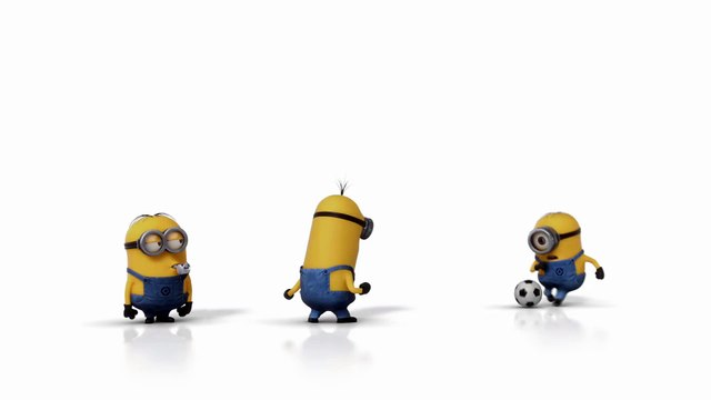 Despicable Me 2 - The Minions Play Soccer - Illumination