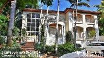 Single Family For Sale: 2125 South BAYSHORE DR Coconut Grove, FL $2599000