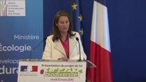 Ségolène Royal lance le projet de loi biodiversité