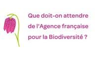 La loi biodiversité et l'Agence française de la biodiversité