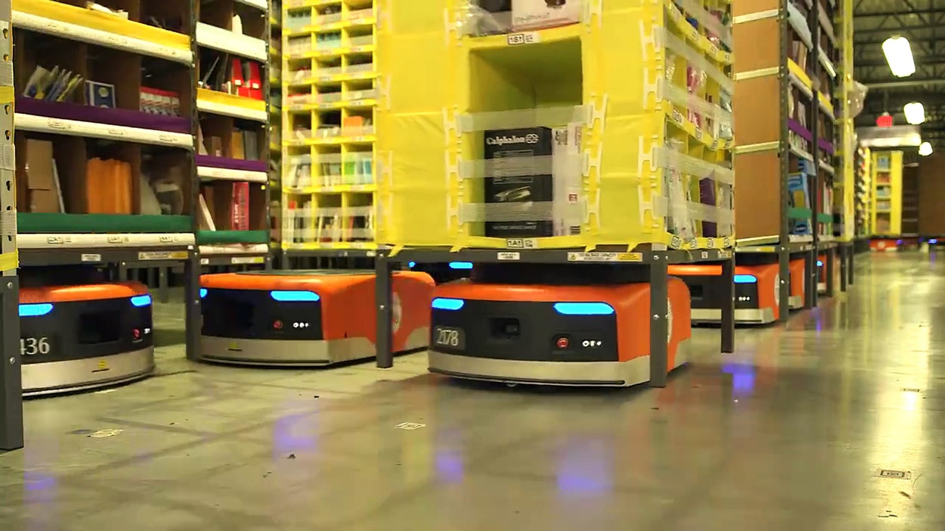How Amazon Works - Mind blowing Robotics used by Amazon
