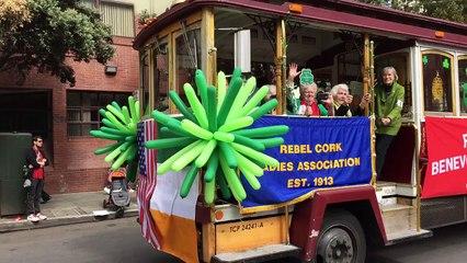 Rebel Cork Benevolent Association at Saint Pattick's day San Francisco