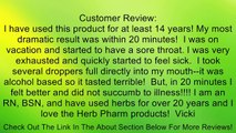 Herb Pharm - Super Echinacea 350 mg. Review