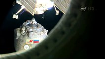 [ISS] Soyuz TMA-14M Undocking in High Definition