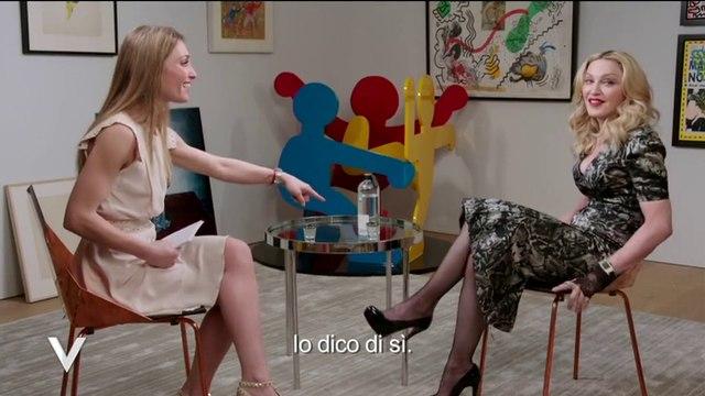 Madonna interview @ Verissimo Italia -March 2015-