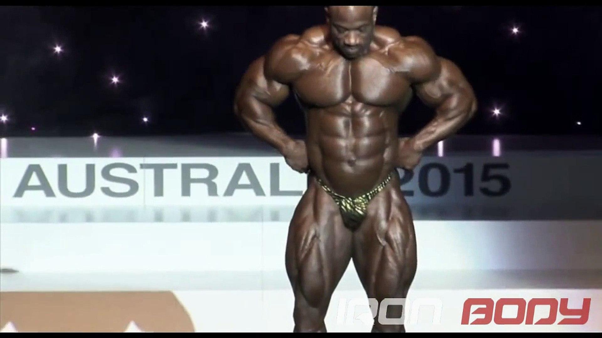 WINNER AGAIN-2015 Arnold Classic Australia - Dexter Jackson Posing (HD)-EVEN BETTER THAN 2008