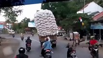 Overloaded Truck accident in India | Must Watch |