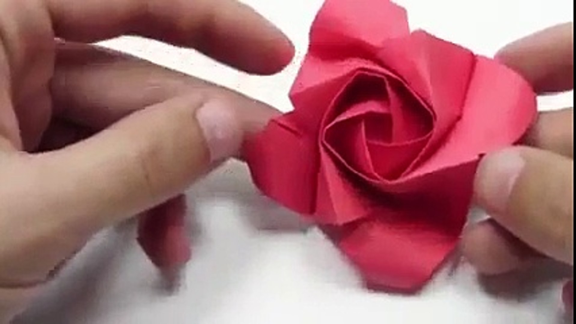 How to make origami rose instructions How to make origami rose step by step